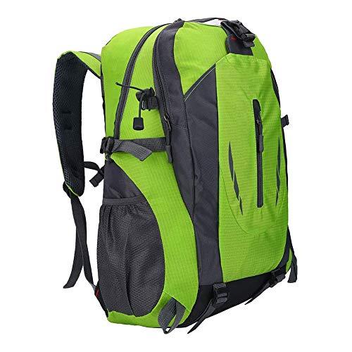 AMONIDA Mochila de Deportes al Aire Libre Mochila de 40L, Mochila de Escalada, Mochila de Gran Capacidad 6 Colores para Escalada Senderismo(50 * 34 * 4cm-Green)
