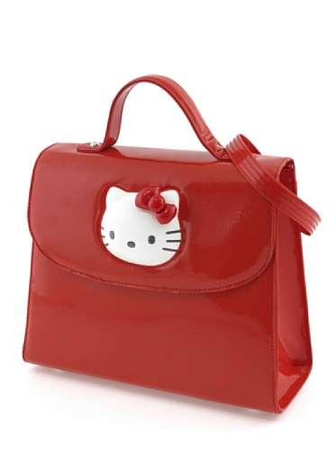Hello Kitty Sac Glossy Rouge