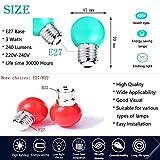 Zoom IMG-1 lampadine colorate led e27 edison
