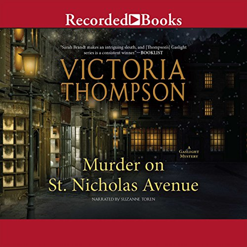 Murder on St. Nicholas Avenue audiobook cover art