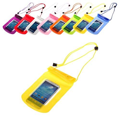BRALEXX Universal Wassertasche passend für Kazam Tornado 348, Gelb, 5 Zoll