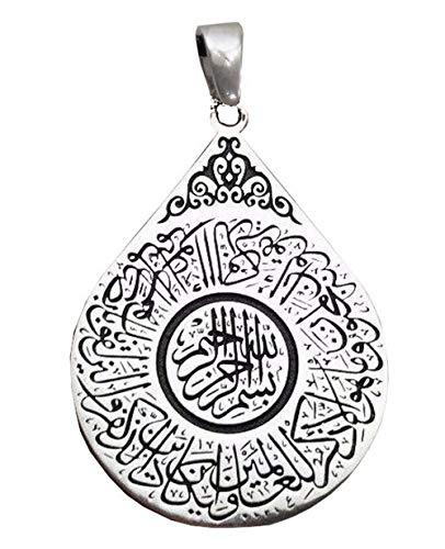 Religion Musulmane  Trés Joli Pendentif Islamqiue de Protect