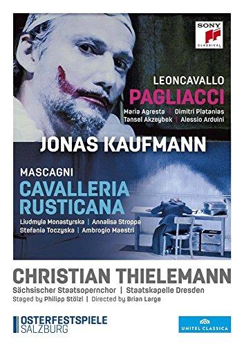 Mascagni: Cavallería Rusticana - Leoncavallo: Pagliacci [DVD]