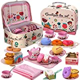 PRE-WORLD Tea Party Set for Little Girls, Princess Tea Time...