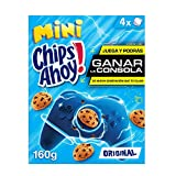 Chips ahoy! - mini galletas con pepitas de chocolate, 4 bolsitas, 160 g