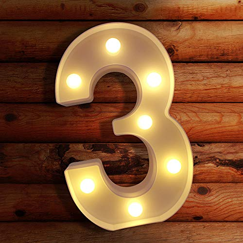 Light Up Letters LED Letter Lights Marquee Sign Alphabet Lights Indoor Decoration for Night Light, Wedding, Birthday Party, Christmas, Home Bar. Create Cafe Ambience in Your Room - P