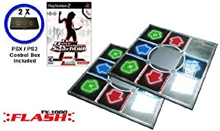 Dance Dance Revolution SuperNova for PS2 game - 2 Dance dance revolution DDR METAL DANCE PADS V 3.0