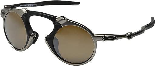 Oakley Men's Madman Polarized Iridium Round Sunglasses