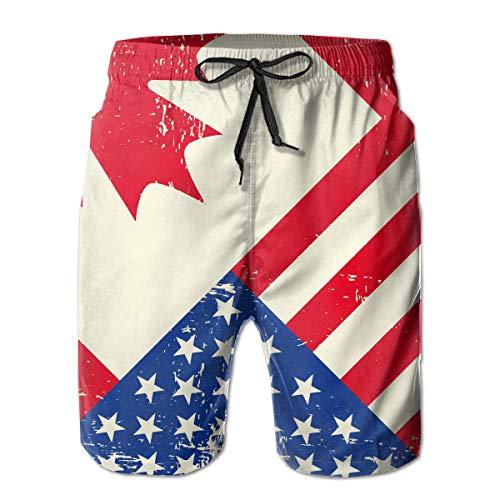 canada flag shorts - 8