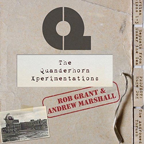 The Quanderhorn Xperimentations cover art