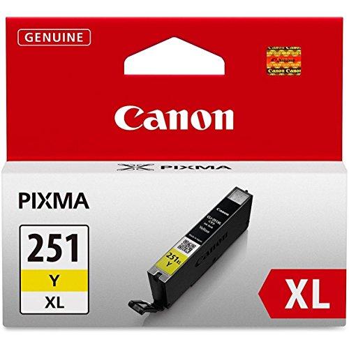 Canon CLI-251XL Cyan, Magenta, Yellow Color Ink Catridge Set - CLI251XL CMY Set