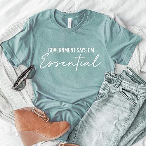 essential worker healthcare shirt cute nurse t-shirt gift idea for nurse quarantine nurse hero shirt