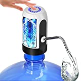 Water Bottle Pump, Water Bottle Dispenser 5 Gallon USB Charging Automatic Drinking Water Pump Portable Electric Water Dispenser Water Bottle Switch