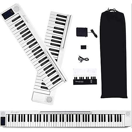 TTLIFE Piano De Teclado Plegable De 88 Teclas Piano Para ...