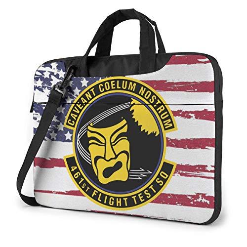 461st Flight Test Squadron Laptop Bag One Shoulder Shockproof Laptop Bag