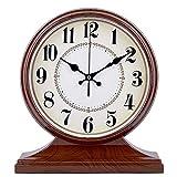 LJF-Desk clock Manto/Reloj De Escritorio, Sala De Estar, Escritorio Creativo, DecoracióN, Reloj De Silencio Relojes Digitales, 32 × 28 Cm