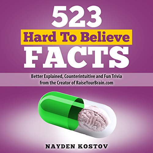 523 Hard to Believe Facts Titelbild
