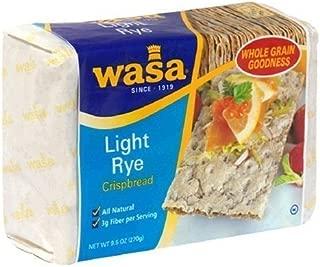 Wasa Crispbread Lite Rye 9.5oz (Pack of 4)