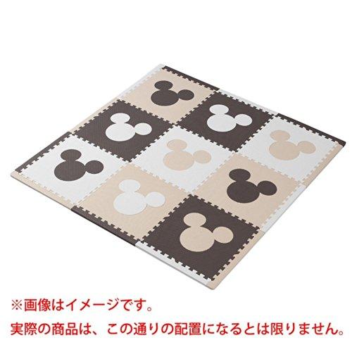 イマジナリウム(トイザらスオリジナル)ジョイントマット ふち付き9枚組 ミッキー(カフェ)