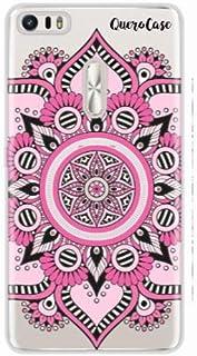 Capa para Zenfone 3 Ultra 6.8 Mandala Rosa