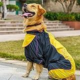 WOOAI - Mono impermeable para perros grandes, para adultos, para mascotas,...