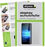 dipos I 6X Schutzfolie matt kompatibel mit Microsoft Lumia 550 Folie Bildschirmschutzfolie