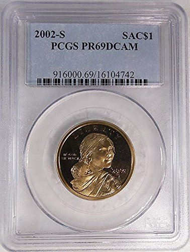2002 S Sacagawea S Proof Blue Label Holder Dollar PR-69 PCGS