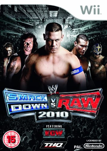 WWE Smackdown vs Raw 2010 (Wii) [import anglais]