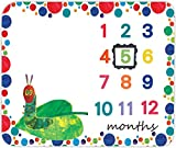 Baby Milestone Blanket EARVO 47x40 inches The Very Hungry Caterpillar Baby Photography Blanket Dots Large Size Watch Me Grow Blanket Newborn Photo Props EADS474