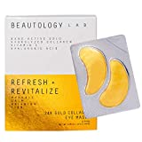 24K Gold Collagen Eye Masks, All Natural Dark Circles and Puffy Eyes Treatment, Anti-Aging Hyaluronic Acid Under Eye Patches, Hydrates and Reduce Wrinkles, 12 Pairs – BEAUTOLOGY LAB