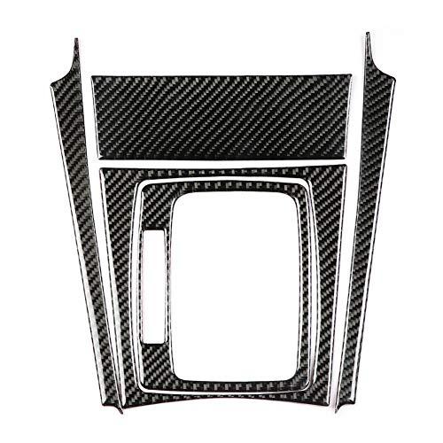 Dingln Engranaje del Coche Shift Fibra De Carbono Panel De Ajuste For M-e-r-c-e-d-e-s Benz Clase C W204 07-13 (Volante A La Izquierda)