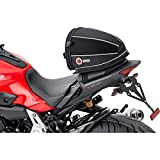 QBag Bolsa Trasera Bolsa para Motos Bolsa Trasera 06 extraíble 4,5 litros de Espacio de Almacenamiento, Unisex, Multiuso, Verano, poliéster