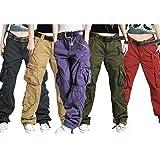 Zoom IMG-1 mxssi pantaloni cargo da donna