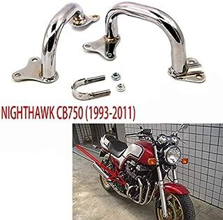 Color: Negro 73JohnPol Reemplazo Cafe Racer Frame Upswept Style Kick Up Seat Hoop Loop Tubing Tube para Honda CB750 CB550 CB500 CC