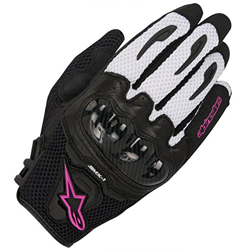 Alpinestars Handschuhe Stella SMX-1 Air schwarz, Schwarz/Pink, S