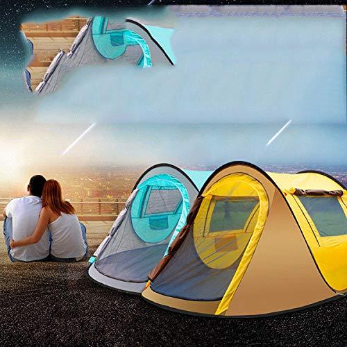 Abgsad Tweedehands open automatische outdoor camping 2 luie mensen vrij om een boot tent te bouwen