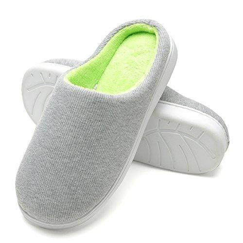 Zapatillas de casa de Hombre, Ultraligero cómodo y Antideslizante, Zapatilla de Estar por...