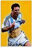 Rompecabezas Adultos Niños Puzzle 300 Piezas Lionel Messi, 300 Piece 15.7x11inch(40x28cm) Sin Marco