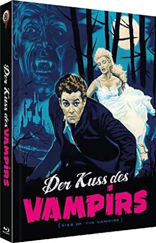 Der Kuss des Vampirs - Uncut/2-Disc Collector's Edition (Blu-ray & DVD inkl. Bonusmaterial) - Limitiertes Mediabook auf 333 Stück, Cover C