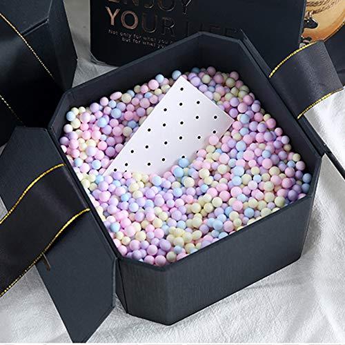 GUOZI Geschenkbox,Geschenkboxen,Die achteckige Geschenkbox kann für Geschenke wie Süßigkeiten,Lippenstift,Parfüm,Kosmetika,Schuhe usw. verwendet Werden.