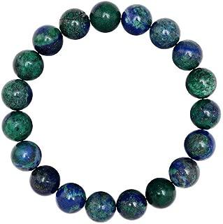 Natural Gemstone Bracelet 7.5 inch Stretchy Chakra Gems Stones Healing Crystal Quartz Women Men Girls Gifts (Unisex)