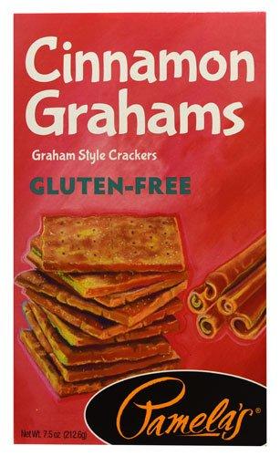 Pamela's Products Gluten-Free Graham Crackers Cinnamon -- 7.5 oz (Pack of 2)