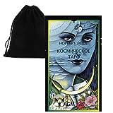 Shop4top Cosmic Cartas Tarot Deck Ruso Edición y Bolsa