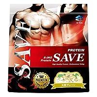 プロテイン SAVE プレミアム (←飲みやすい) 大豆プレーン PREMIUM ソイプロテイン 人口甘味料・香料 無添加 (1kg)