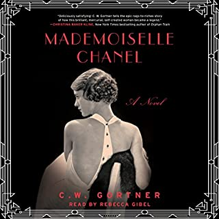 Mademoiselle Chanel audiobook cover art
