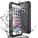 wasserdichte Hülle für iPhone se 5 5s, Update IP68 Schutzhülle mit Eingebautem Displayschutz