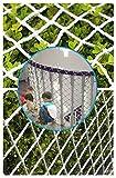 WHH Redes De Protección,Red De Seguridad Escaleras Balcón Niños Y Mascotas Carga Anti-caída Jardín Escalada De Plantas Decoracion Red De Cuerda Reemplazo Goal Net,Personalizable Diámetro 6 mm