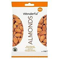 素晴らしいアーモンドの天然115グラム (x 4) - Wonderful Almonds Natural 115g (Pack of 4) [並行輸入品]