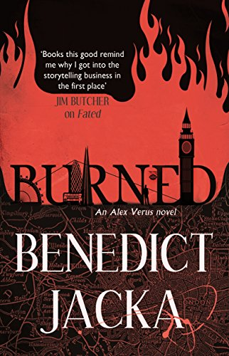 Burned: An Alex Verus Novel from the New Master of Magical London (English Edition)