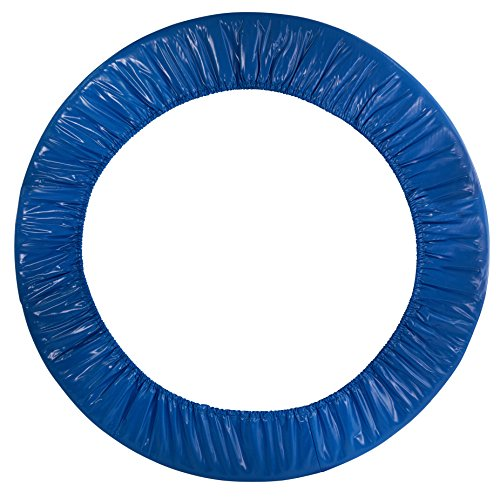 Upper Bounce Trampoline Spring Cover - Replacement Safety Pad for Trampolines Fits Round Mini Rebounder Trampoline with 6 Legs (Blue, 40)
